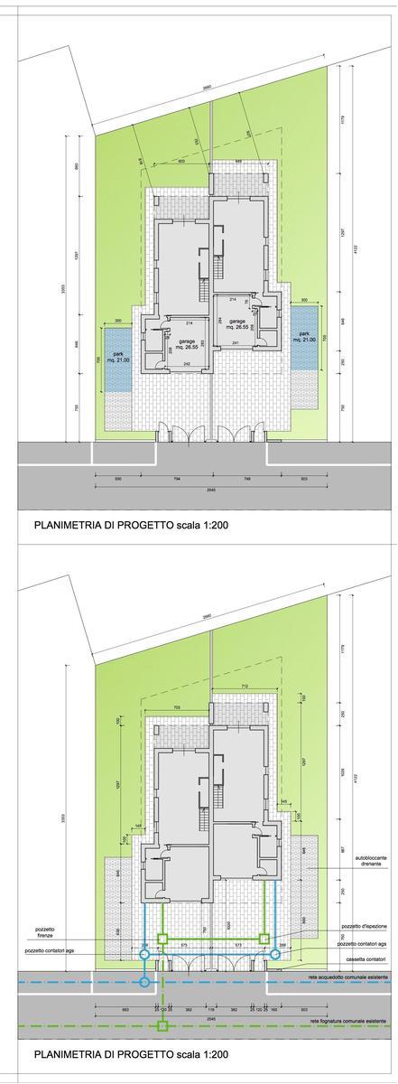 Planimetria Vendita porzione bifamiliare Castelnuovo Del Garda