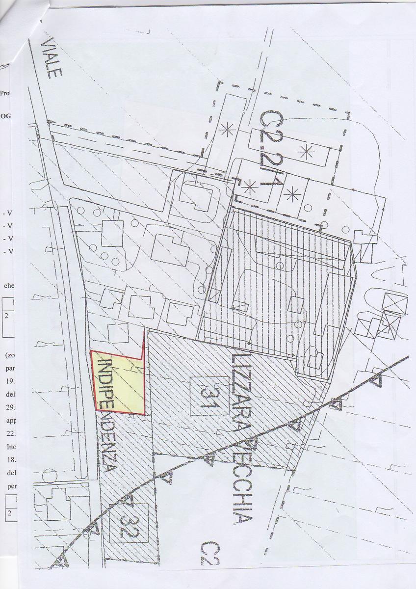Planimetria Vendita terreno edificabile Peschiera Del Garda