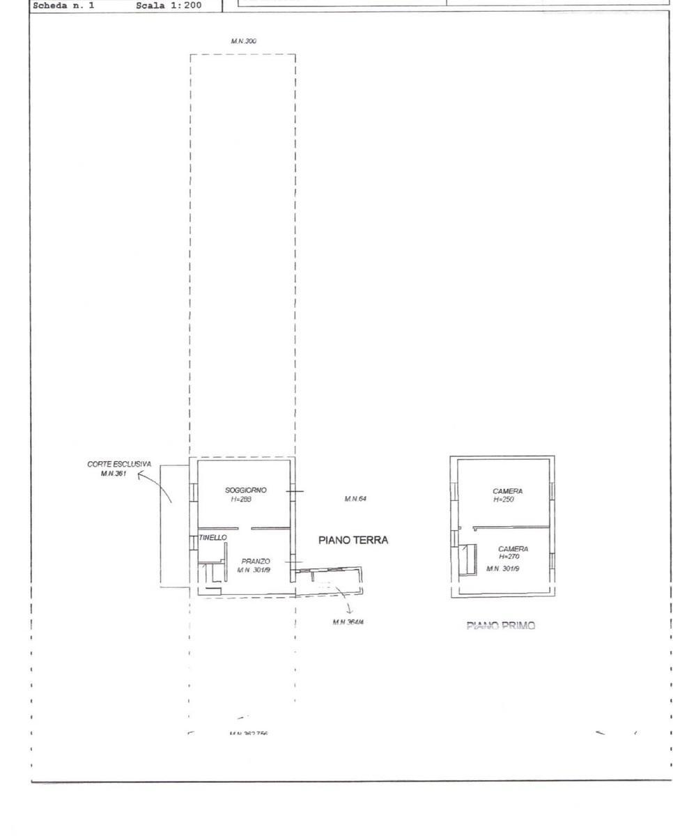 Planimetria Vendita terratetto Lazise